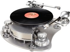 I dance better when the music is played on a $ 20,000 turntable.