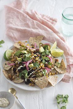 healthy nachos for l