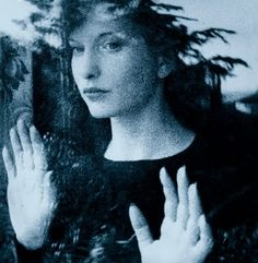 Maya Deren, who supplied many of the images found in Happy Talk, including those of women looking out glass windows