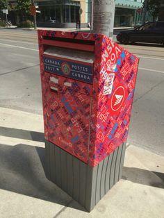 One of Karim Rashid's old works a mailbox