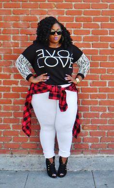 Love | www.lacenleopard.com #plussizefashion #psblogger