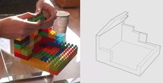 LEGO Bricks Transferred to Digital Models in Real Time