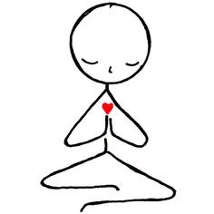 In this Kundalini Yoga video experienced yoga instructor demonstrates several kriyas that are also suitable for beginners. Enjoy the benefits of Kundalini Yoga. Doodle Drawings, Easy Drawings, Doodle Art, Yoga Stick Figures, Stick Figure Drawing, Stick Figure Tattoo, Painting & Drawing, Self Compassion, Yoga Art