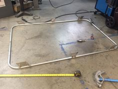 "Let the welding begin for my 74"" x 52"" full size roof rack for my 99"" XJ"