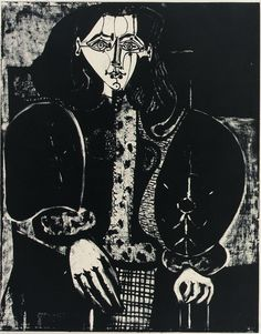 Pablo Picasso - Woman in an armchair