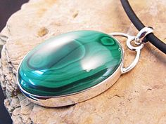 Excited to share the latest addition to my #etsy shop: Malachite Sterling Silver pendant http://etsy.me/2jT5tfG #jewelry #necklace #green #oval #silver #no #domed #cabochon #malachitehttps://www.etsy.com/au/shop/AussieGemDesigns