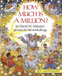 Anniversary Edition (Reading Rainbow Books): David M. Schwartz, Steven Kellogg -- Ever wonder just what a million of something means? How about a billion? Or a trillion? This Is A Book, I Love Books, Good Books, The Book, Math Literature, Math Books, Reading Books, Kids Reading, Teaching Place Values