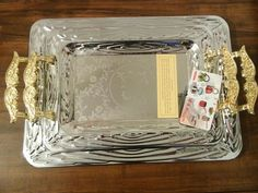 Middle Eastern/Arab Inspired serving tray Having guest over? Need serving trays to impress your guest? We got you covered! Free Shipping