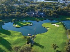 Golf Courses A move to the water: 46 of our World 100 are seaside venues. - A move to the water: 46 of our World 100 are seaside venues. Famous Golf Courses, Public Golf Courses, Golf Handicap, Augusta Golf, Golf Holidays, Golf Course Reviews, Africa Destinations, Golf Lessons, Play Golf
