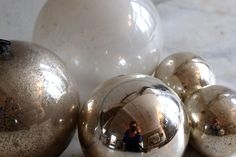 Mercury Glass Witches Balls › Puckhaber Decorative Antiques › specialists in French decorative antiques for over 30 years in New Romney, Ken...