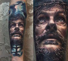 30 Tattoo Realistic Portraits   FunnyAndStupid.com
