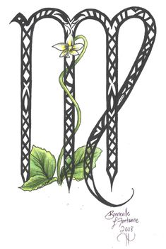 Check out our Virgo tattoos: 50 designs and ideas, including symbol tattoo art. Virgo Art, Virgo And Scorpio, Virgo Love, Virgo Sign, Zodiac Signs Virgo, Zodiac Sign Tattoos, Zodiac Art, Virgo Tattoos, Tatoos