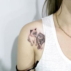 Tattoo placement for small cat tattoo??