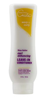 Curl Enhancing Shea Butter Leave in Conditioner. Works wonders for curly hair to tame frizz!