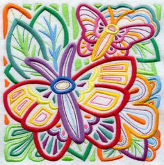 Machine Embroidery Designs at Embroidery Library! Butterfly Art, Butterflies, Machine Embroidery Designs, Embroidery Patterns, Hand Towels, Applique, Cross Stitch, Quilts, Tatoo