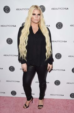 Jessica Simpson attends Beautycon Festival