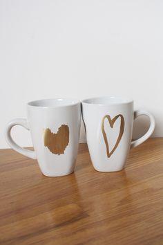 Heart + Mug + DIY