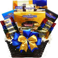 Chance to Win a Ghirardelli Chocolate Lovers Summer Gift Basket Sweepstakes -- Ends Sunday! ENTER Today at www.kudosz.com