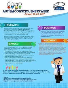 Autism Consciousness Week (Jan 16-20, 2017)