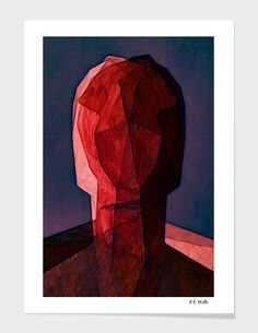 Discover «Red Head», Exclusive Edition Fine Art Print by Randy Witte - From $25 - Curioos