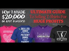Teespring Tutorial - How I Made $20,000 in 8 Weeks Selling T-Shirts - YouTube