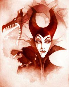 Maleficent! my favorite villain