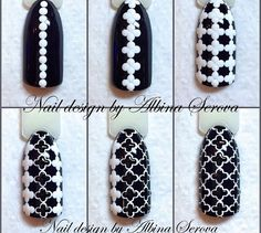 Simple Nail Art Designs That You Can Do Yourself – Your Beautiful Nails Trendy Nail Art, Easy Nail Art, Dot Nail Art, Nail Art Dotting Tool, Nagel Gel, Nail Tutorials, White Nails, Black Nails, Simple Nails