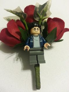 Wedding/Prom  Geek Nerd Lego Boutonniere  Harry by DivinityBraid