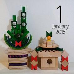 miharuさんはInstagramを利用しています:「2018.1 こんばんは♡ 今年初めのマンスリーカードは 【門松🎍&鏡餅】 鏡餅は姉氏が昨年の写真を見てせっせと作ってくれました😊💕 # ご挨拶が遅くなりましたが、 昨年も沢山いいねや温かいコメントありがとうございました。…」