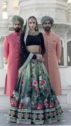 I just found out amazing Bridal Sabyasachi Lehenga Prices from his 2019 and 2018 collection. Check out 29 lehenga prices and gorgeous real bride pictures. Sabyasachi Lehenga Cost, Bridal Lehenga Choli, Silk Lehenga, Floral Lehenga, Lehenga Style, Lehenga Blouse, Wedding Sarees, Indian Wedding Outfits, Indian Outfits