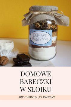 Pomysł na prezent - DIY Domowe babeczki w słoiku // DIY Homemade cupcakes in a jar