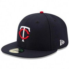 77f89fe6213 Minnesota Twins New Era Home Authentic Collection On-Field 59FIFTY Fitted  Hat - Navy  . Osu BaseballRoyals ...