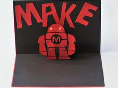 LED Pop-up Cards — DIY How-to from Make: Projects http://makeprojects.com/Project/LED-Pop-up-Cards/2459/1#.UFFh1o2PVn9