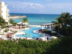 Now Jade Riviera Cancun Resort & Spa:  Room with a view :).  Fabulous place and vacation.  BETH