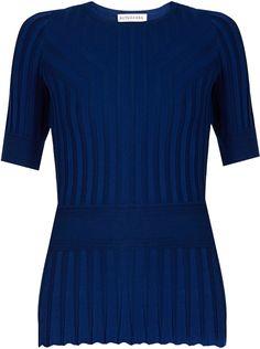 ALTUZARRA Ozzy short-sleeved T-shirt Royal Blue, Perfect Fit, Women Wear, Knitting, Stylish, Tees, Fitness, T Shirt, Shopping