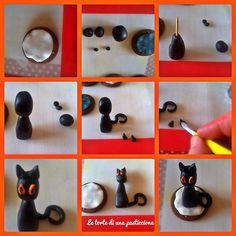 Passo passo biscotti x halloween con gatto semplici semplici!!!