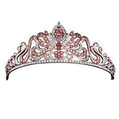 Linney's pink diamond tiara; oh thats where my tiara went...its on pinterest:)