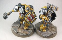 40K GIVEAWAY: Imperial Fists - Finished Terminators