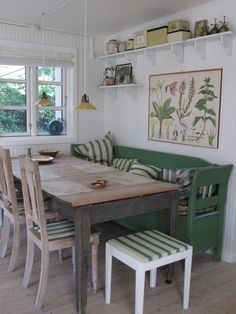 BRABBU Design Forces – Contemporary Home Furniture - Esszimmer ideen Swedish Cottage, Swedish Decor, Swedish House, Scandinavian Cottage, Swedish Kitchen, Swedish Style, Cottage Style, Swedish Farmhouse, Cottage Chic