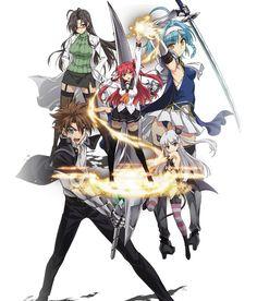 Shinmai Maou no Testament (The Testament Of Sister New Devil) Image - Zerochan Anime Image Board Sci Fi Anime, Anime Fantasy, All Anime, Otaku Anime, Naruto Amv, Anime City, Anime Maid, Basara, Skullgirls