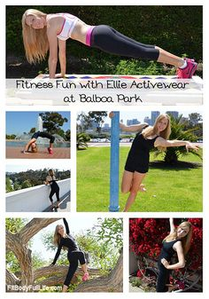 Fitness Fun with Ellie Activewear at Balboa Park - My daughter and I have been loving Ellie activewear for our workouts. Here are our latest reviews and Christina's photo shoot at Balboa Park: http://raisingfigureskaters.com/2013/04/24/love-ellie-fitness-fashions/ and http://fitbodyfulllife.com/2013/04/fitness-fun-with-ellie-activewear-at-balboa-park/