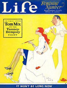 Life September 1927    Illustration by John Held, Jr.
