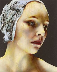 This painting by Lita Cabellut is pure poetry!
