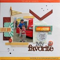 My Favorite by Tarrah from our Scrapbooking Gallery originally submitted 03/26/13 at 04:57 AM