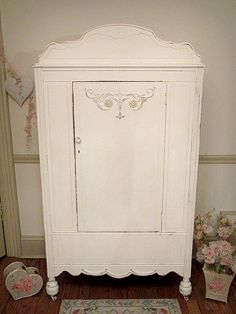 This Beautiful Armoire Is So Graceful With All Its Lovely Accents From The  Pretty Appliques On