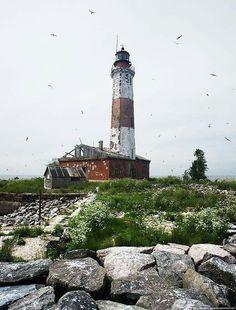 ladoga lake sukho lighthouse Russia