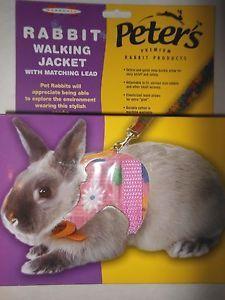 Marshall Rabbit BunnyJacket Walking Harness & Lead