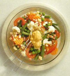 Salada de Legumes com Fiambre