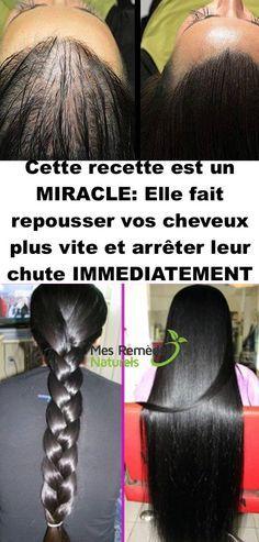 Cette recette est un MIRACLE: Elle fait repousser vos cheveux plus vite et arrêter leur chute IMMEDIATEMENT………Les résultats vous étonneront !!