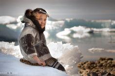 Inuit boy in seal skin - Calgary & World Photographer Kyle Marquardt